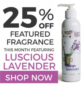 25% Off Sugar and Spice Bath and Body Care Lavender Natural Products made in Canada Maple Ridge BC
