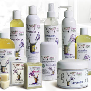 All Natural Lavender Bath and Body Products from Sugar and Spice Bath and Body Care Maple Ridge BC