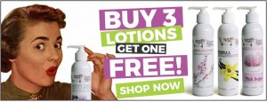 Buy 3 Natural Lotion get 1 Free from Sugar and Spice Bath and Body Maple Ridge BC