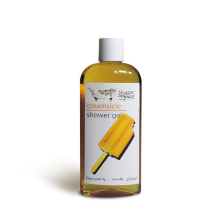 Creamsicle Natural Shower Gel Sugar and Spice Maple Ridge BC