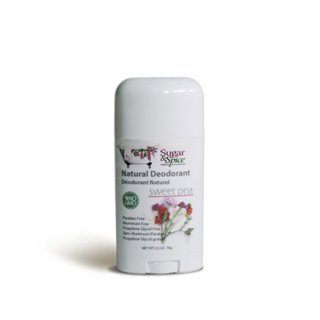 Sweet Pea natural deodorant