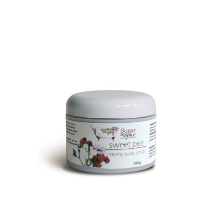 Sweet Pea Creamy Body Scrub