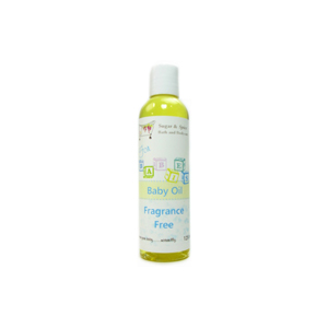 Fragrance Free Baby Oil