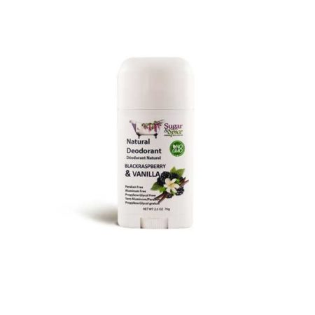 black raspberry & vanilla natural deodorant