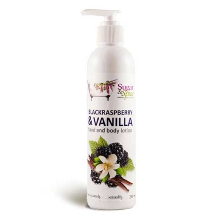black raspberry & vanilla body lotion