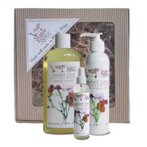 Sweet Pea Natural Body Care Products Gift Box Sugar and Spice Maple Ridge BC