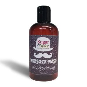 Invigorating Whisker Wash all Natural product from Sugar and Spice Bath and Body Maple Ridge BC