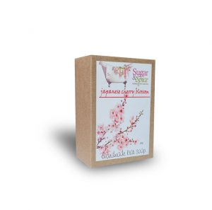Japanese Cherry Blossom Natural Soap Sugar and Spice Bath and Body Maple Ridge BC