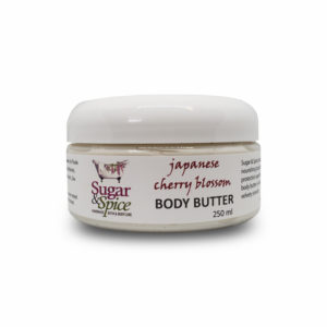 Japanese Cherry Blossom Natural Body Butter Sugar and Spice Bath and Body Maple Ridge BC