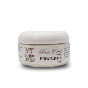 Rose Petal Natural Body Butter Sugar and Spice Bath and Body Maple Ridge BC
