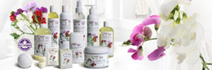 Sugar and Spice Bath and Body Care Sweet Pea Natural Products made in Canada Maple Ridge BC Banner
