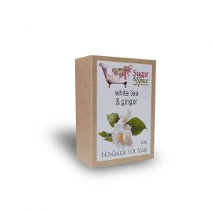 White tea and ginger Natural Soap Sugar and Spice Bath and Body Maple Ridge BC