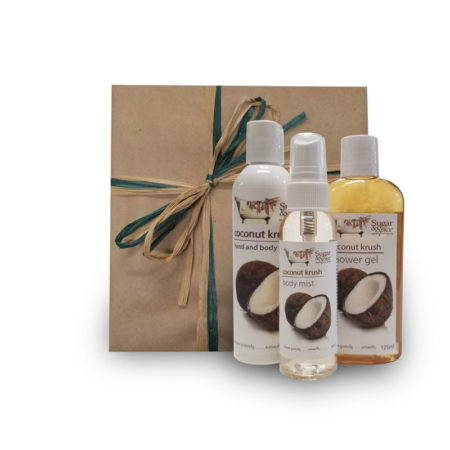 Coconut Natural Body Care Products Gift Box Sugar and Spice Maple Ridge BC
