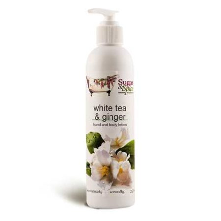 white tea & ginger hand and body lotion